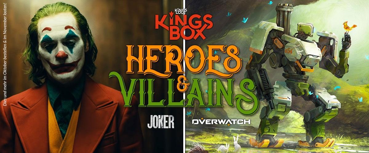 November - Heroes & Villains