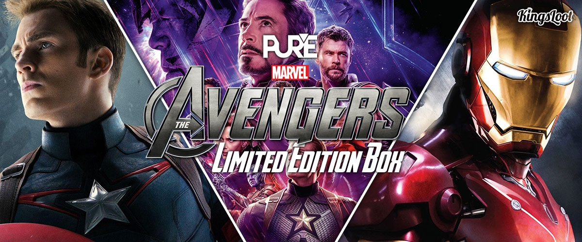 PureBox - Marvels Avengers