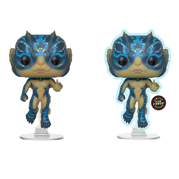 Funko POP! Movies The Shape Of Water: Amphibian Man (Chase möglich)