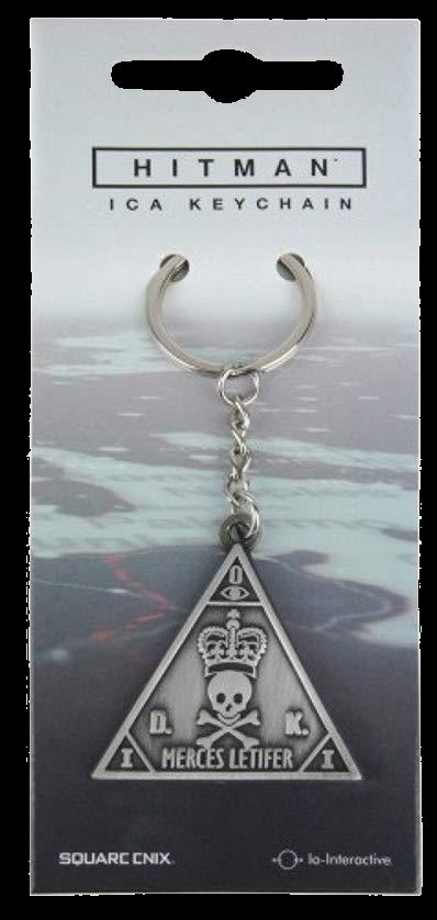 Hitman ICA Logo Metall-Schlüsselanhänger