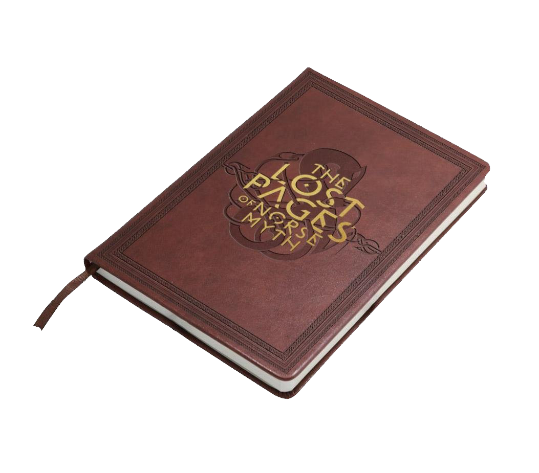 "God of War Notizbuch ""The Lost Pages Of Norse Myth"""