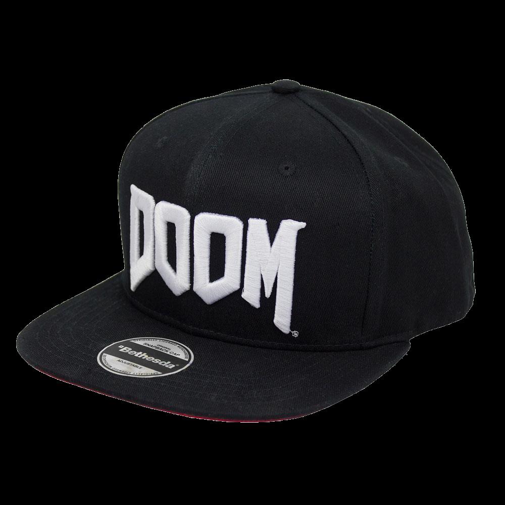 Doom Snapback Cap mit Logo