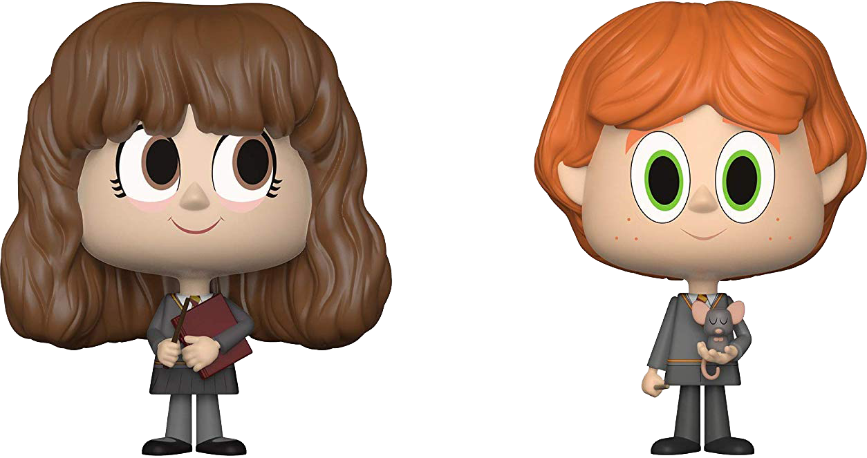 Harry Potter VYNL Figuren Doppelpack Ron & Hermine