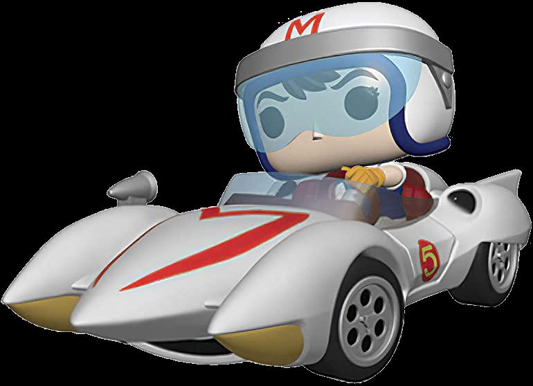 Funko POP! Rides Vinyl Figur Speed Racer: Speed mit Mach