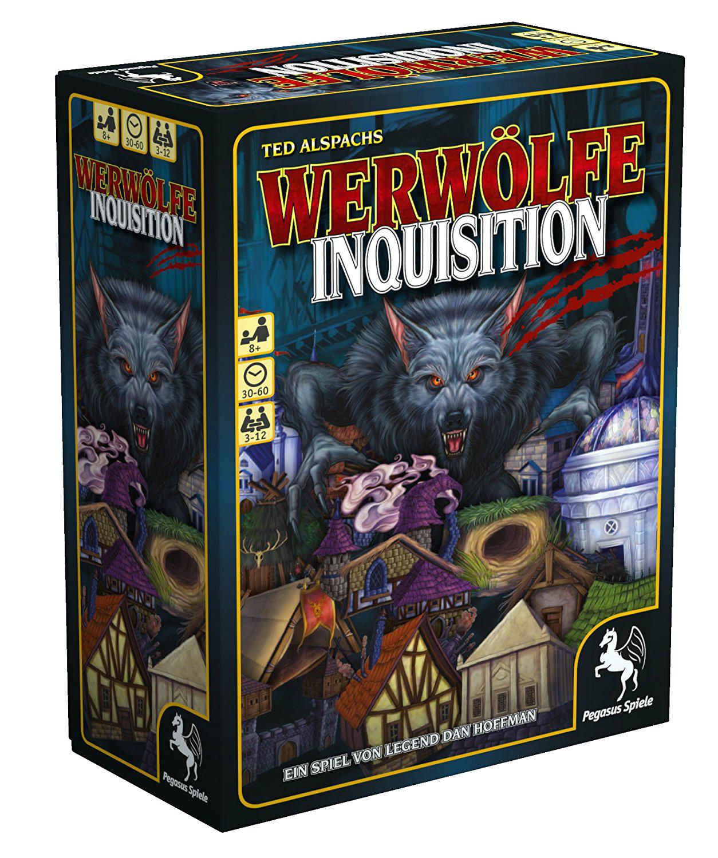 """""""Werwölfe Inquisition"""" Gesellschaftsspiel"""