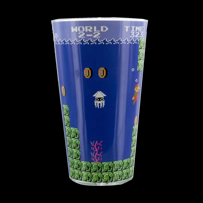 Nintendo Super Mario Bros. Glas