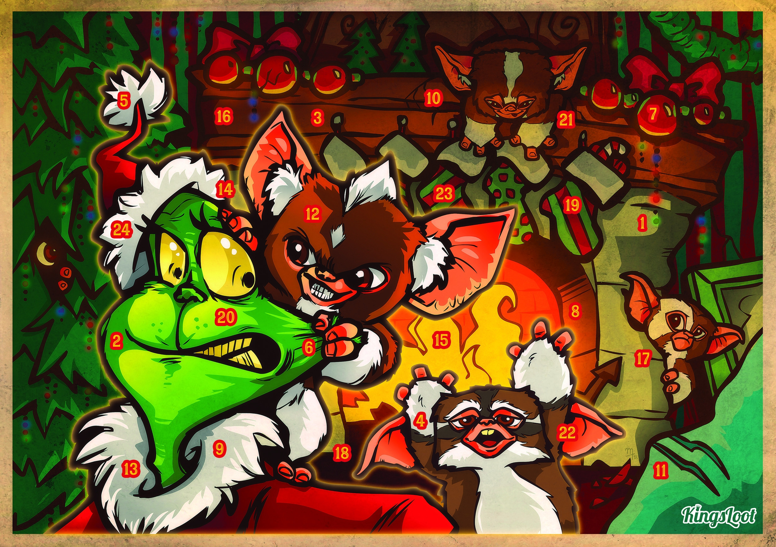 "KingsLoot Adventskalender ""X-Mas Trouble"""