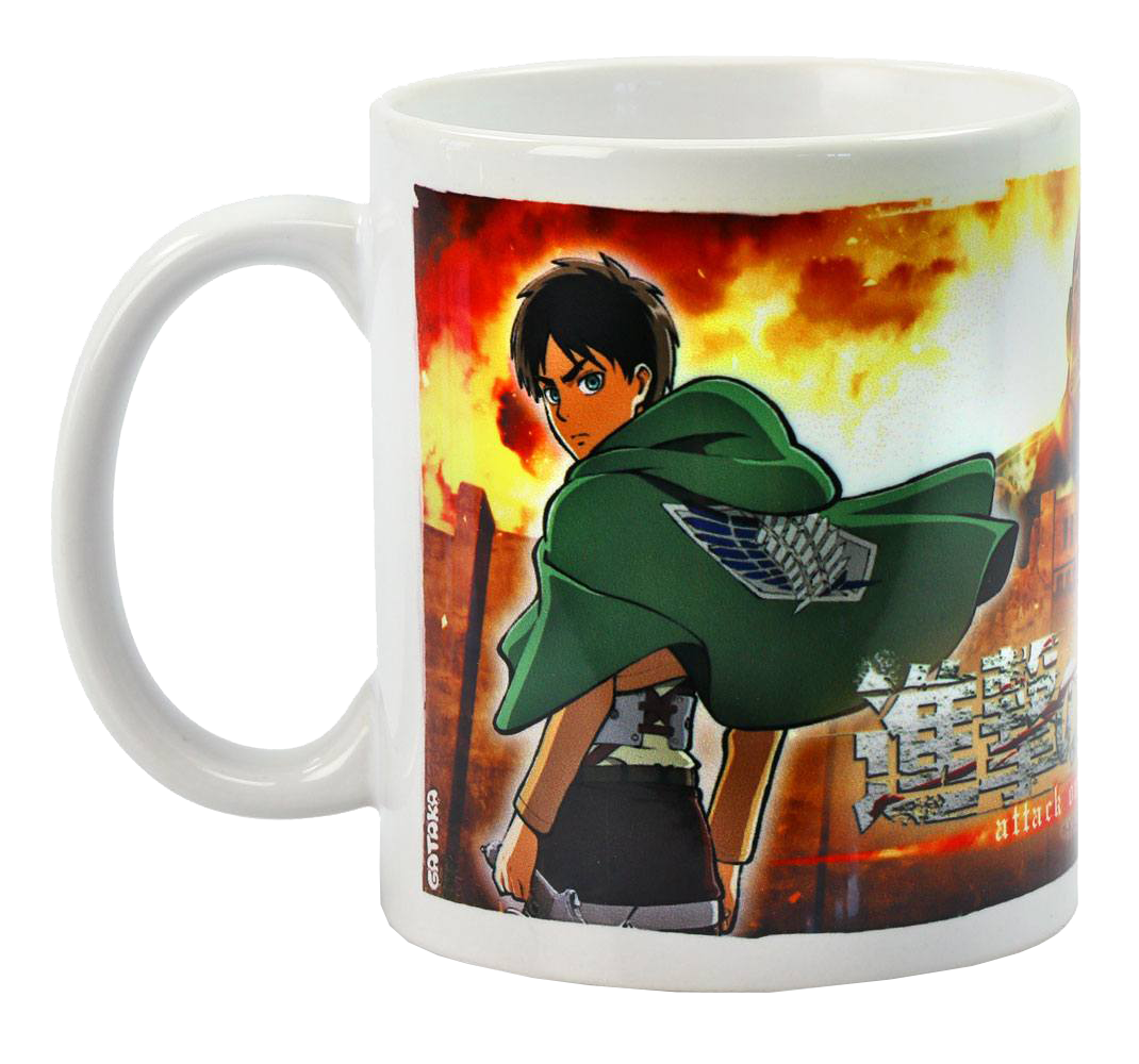 Attack on Titan Tasse Duo