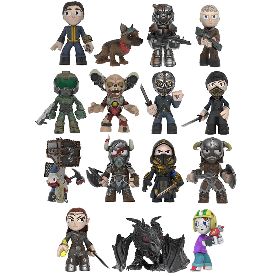 Bethesda All-Stars Mystery Mini Blind-Box