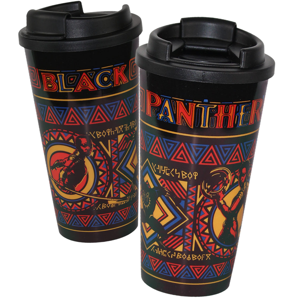 Black Panther Thermo-Trinkbecher
