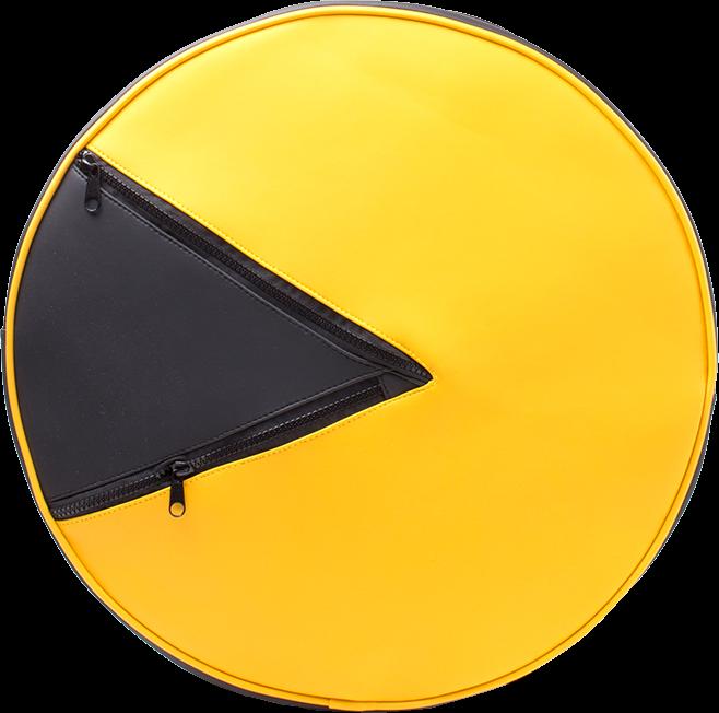 Pac-Man Geformter Rucksack