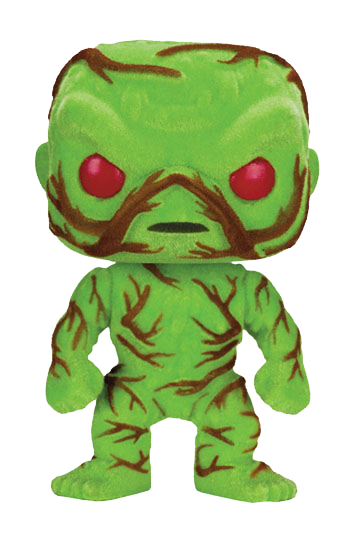 Swamp Thing POP! Heroes Vinyl Figur (Flocked & Scented)