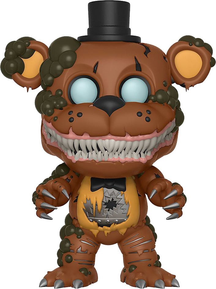 Funko POP! Books Five Nights at Freddy's The Twisted Ones: Twisted Freddy