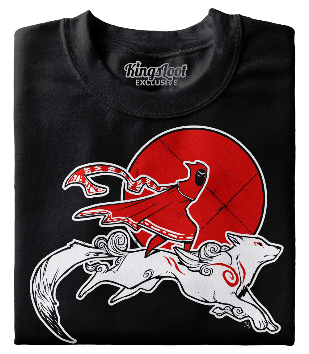 """The Journey of Amaterasu"" Premium T-Shirt"