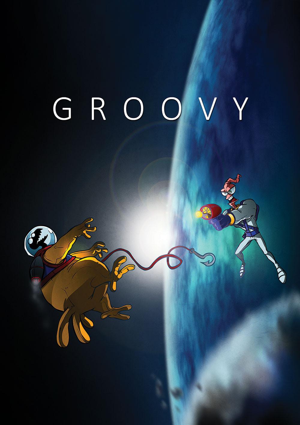 """Groovy"" Premium-Artprint"