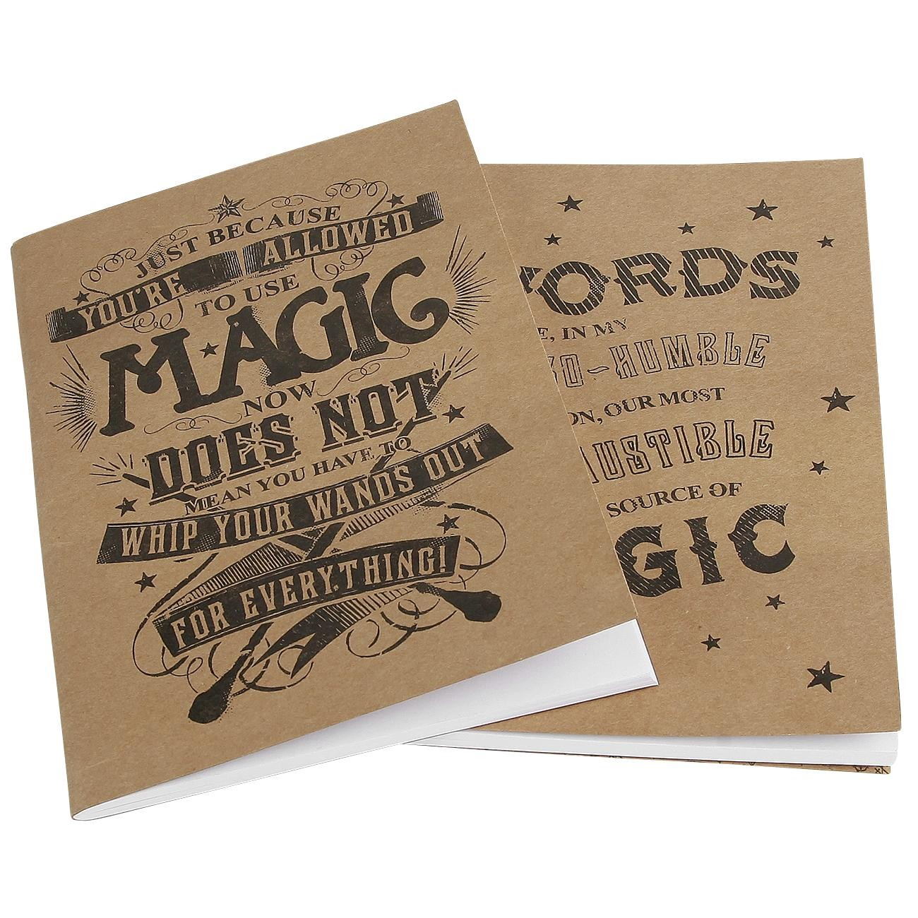 Harry Potter (Magic) A5 Exercise Book Doppelpack