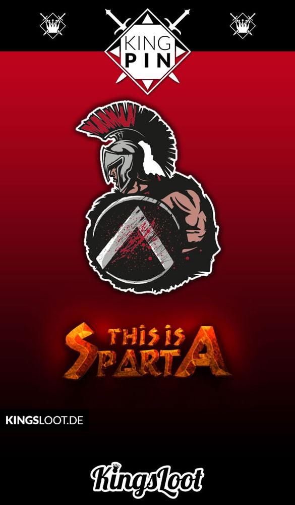 "KingPin #5 ""Spartan Warrior"""