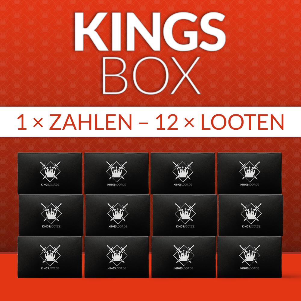 KingsBox komplett für 12 Monate