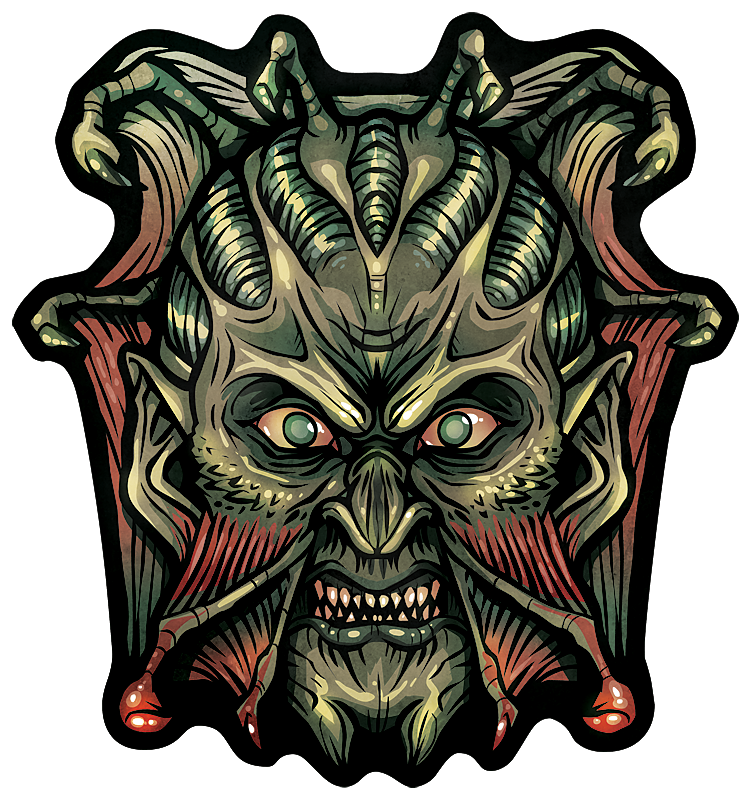"KingsGlass #14 ""The Creeper"""