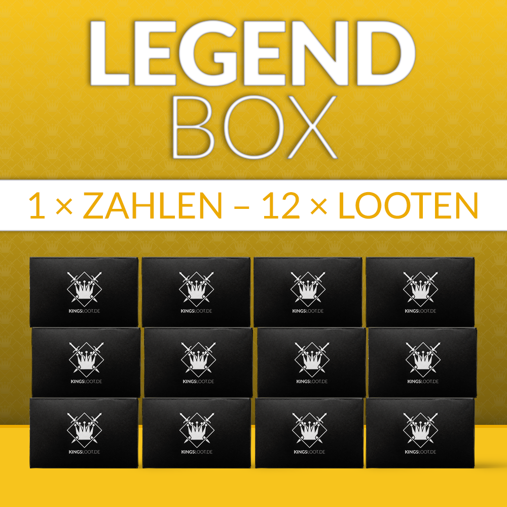 LegendBox komplett für 12 Monate