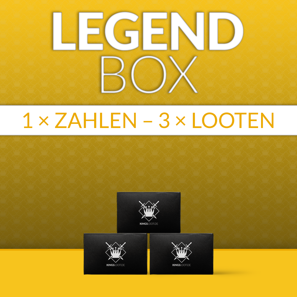 LegendBox komplett für 3 Monate