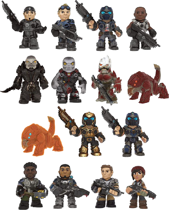 Gears of War Mystery Mini Blind Box