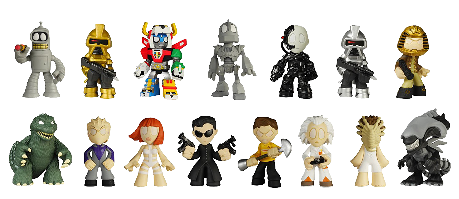Science-Fiction Series Two Mystery Mini Blind Box