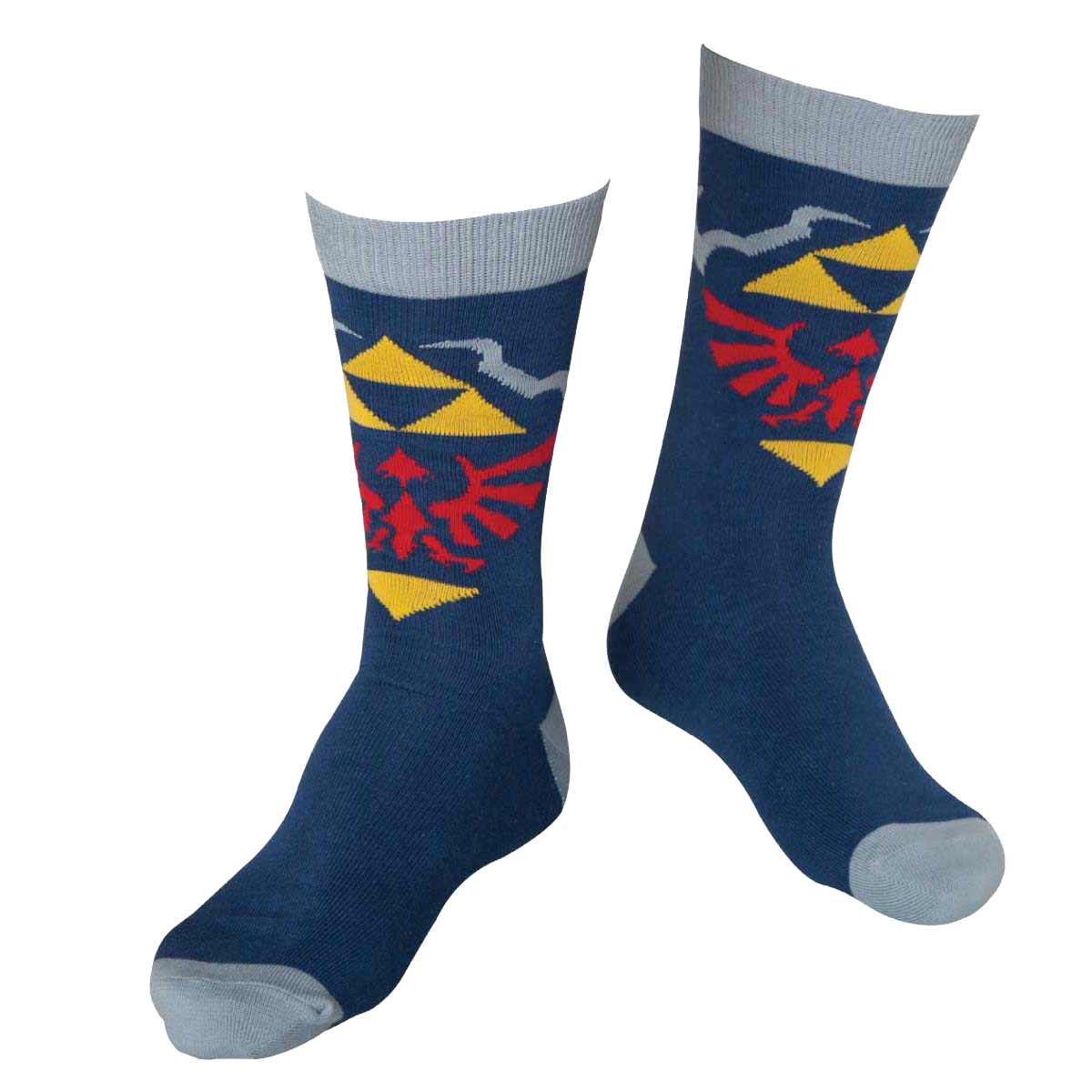 The Legend of Zelda Blue Crew Socken