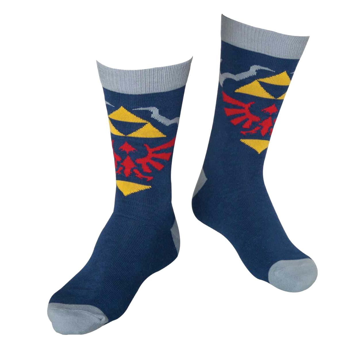 The Legend of Zelda Blue Crew Socken