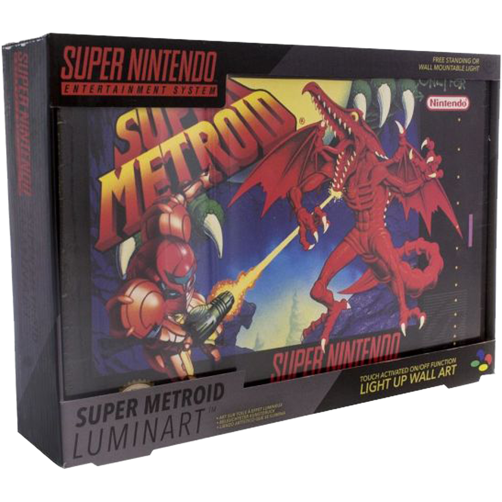Nintendo Super Metroid Luminart