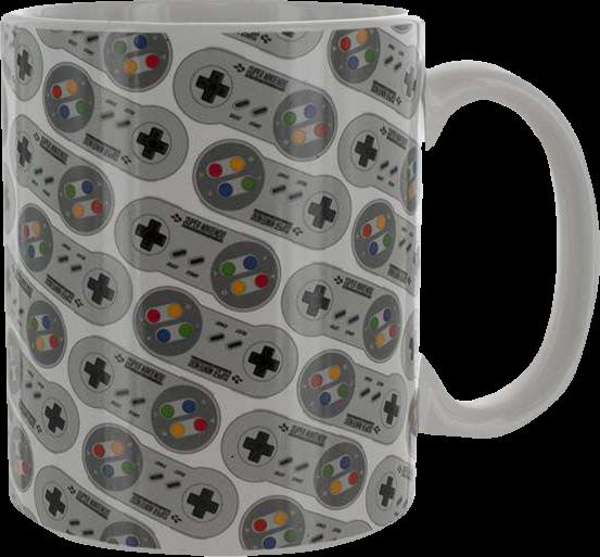 Nintendo SNES Controller Tasse