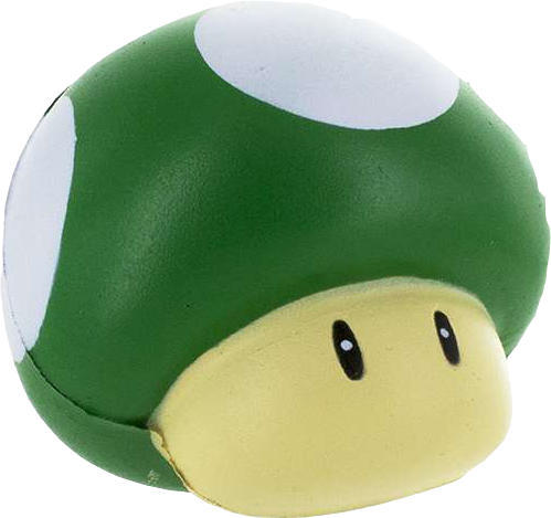 Nintendo Super Mario Anti-Stress-Ball Serie 2 1-Up Mushroom