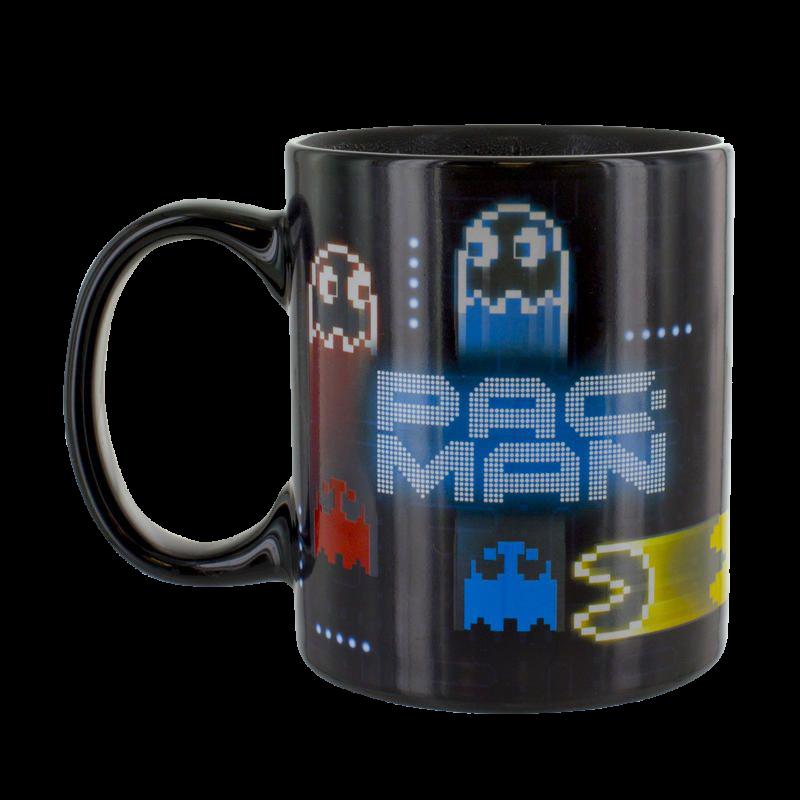 Pac-Man Neon Hitzewechsel-Tasse