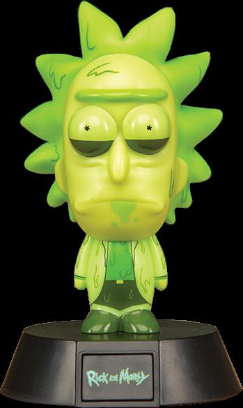 Rick and Morty: Toxic Rick Icon Light