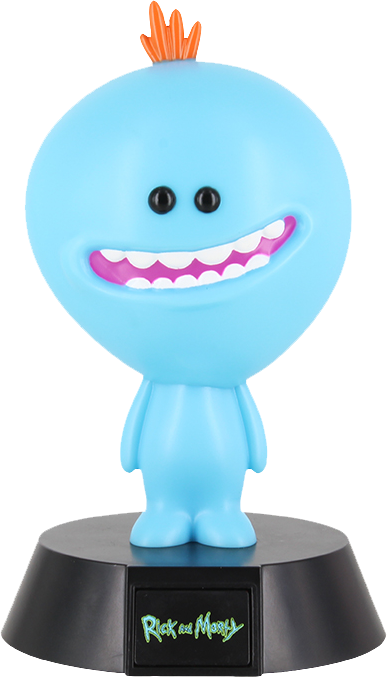 Rick and Morty: Mr Meeseeks Icon Light