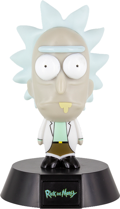 Rick and Morty: Rick Icon Light