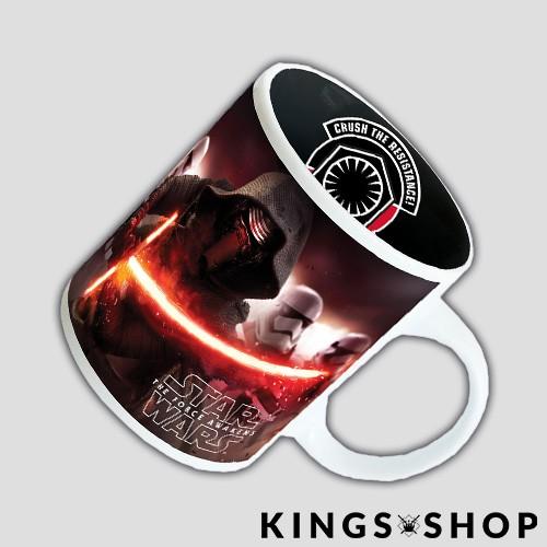 Star Wars Episode VII Keramiktasse Kylo Ren & Stormtrooper