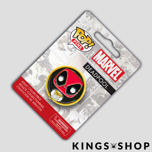 Marvel Comics POP! Pins Ansteck-Button Deadpool
