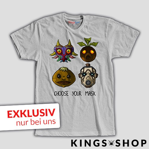 """Choose your Mask"" T-Shirt"