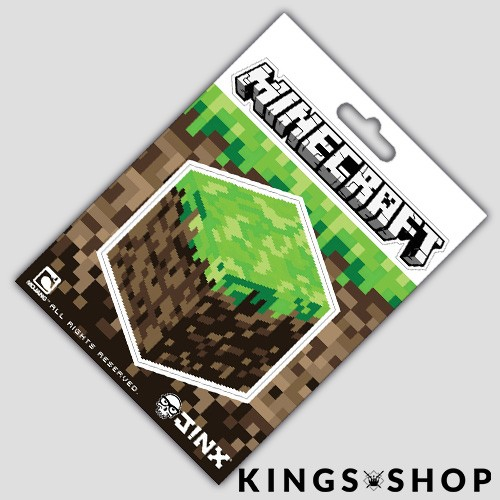 Minecraft Sticker Dirt Block