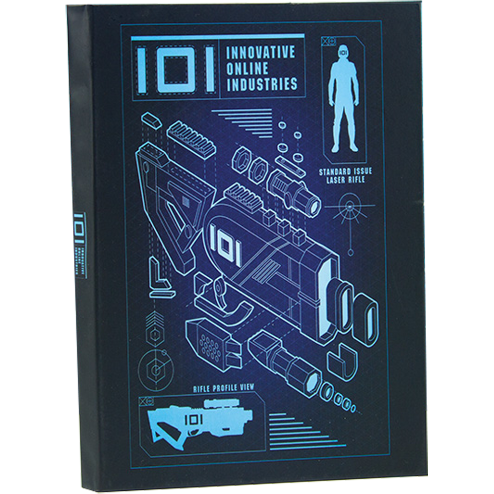 Ready Player One IOI Notizbuch