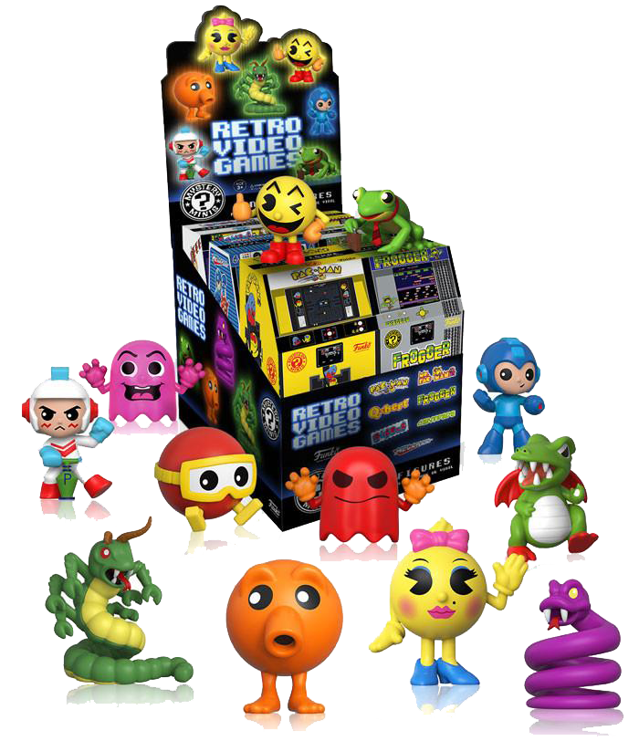 Retro Video Games Mystery Mini Blind-Box