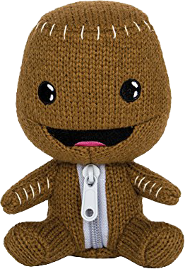 "Little Big Planet Stubbins Plüsch-Figur ""Sackboy"""