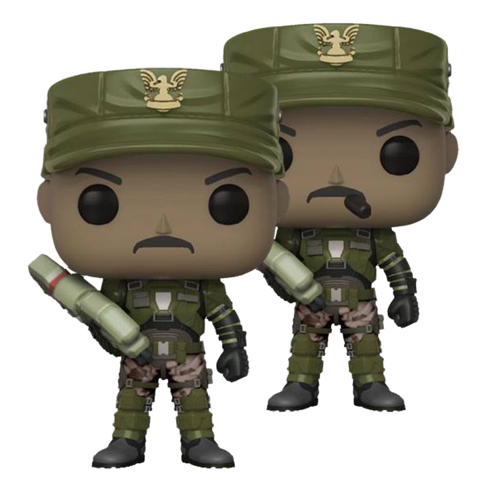 Funko POP! Halo Sgt. Johnson (Chase möglich)