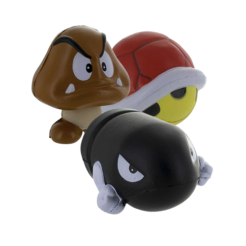 Nintendo Super Mario Anti-Stress-Ball Serie 2