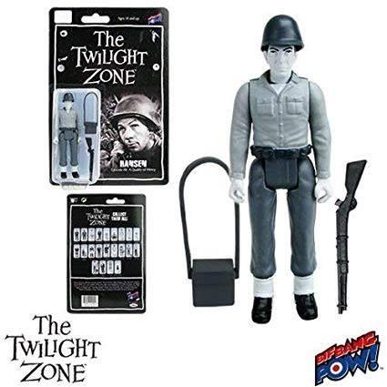 Twilight Zone Retro Actionfigur 10 cm Hansen