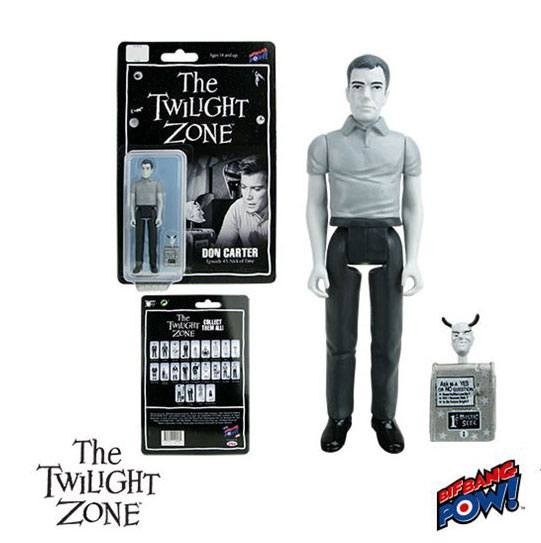 Twilight Zone Retro Actionfigur 10 cm Don Carter