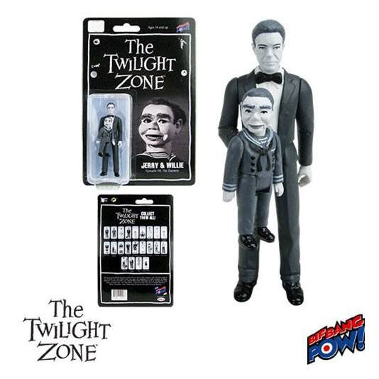 Twilight Zone Retro Actionfigur 10 cm Jerry & Willie