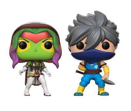 Funko POP! Games Marvel vs. Capcom Infinite: Gamora vs. Strider Exclusive 2er-Pack