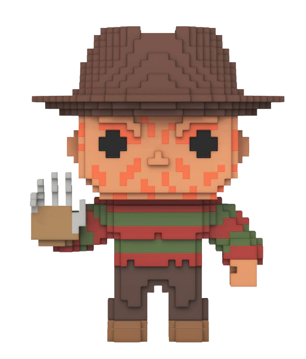 Funko POP! 8-Bit Nightmare On Elm Street: Freddy Krueger